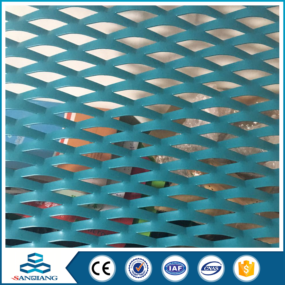 Sanqiang hot sale Anodic Oxidation 11.15kg/m2 weight Galvanized alumimum metal mesh