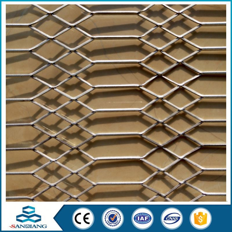 exterior wall cladding galvanized steel expanded metal mesh price