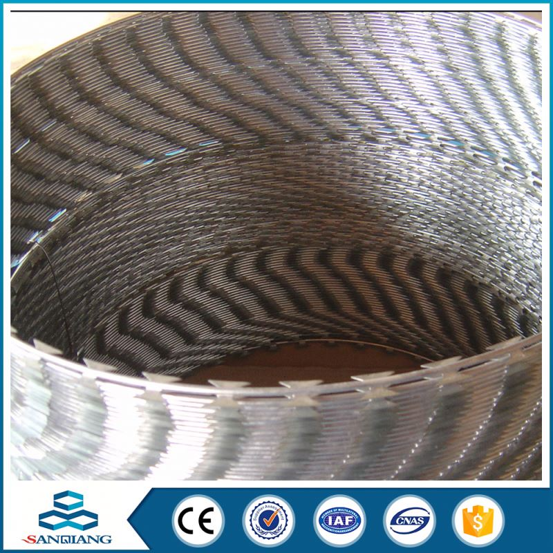 Reliable And Quick Delivery galvanized concertina fake razor barbed wire