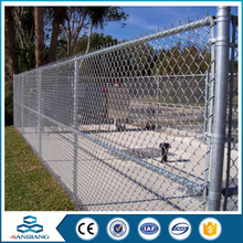 best price double loop used chain link panel fence for sale