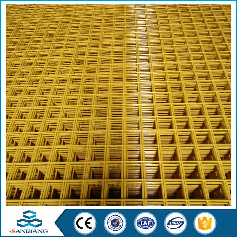 3d rib lath cheapest welded wire mesh panel for airport fence