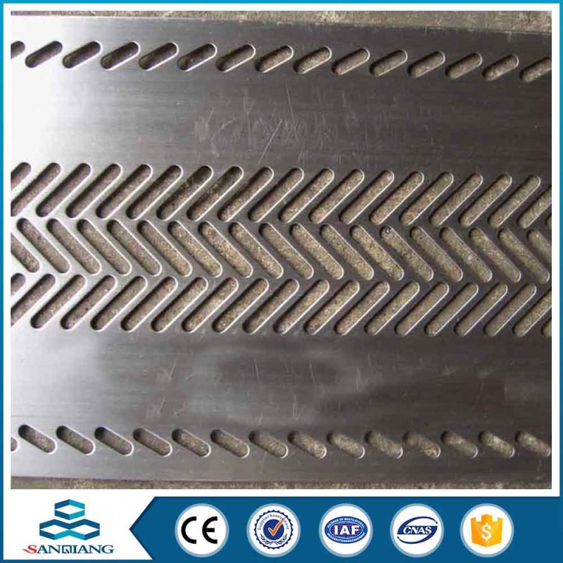stamping hexagonal perforated metal mesh for grill used in computer