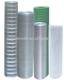 1/4'' galvanized welded wire mesh (Anping manufacture)
