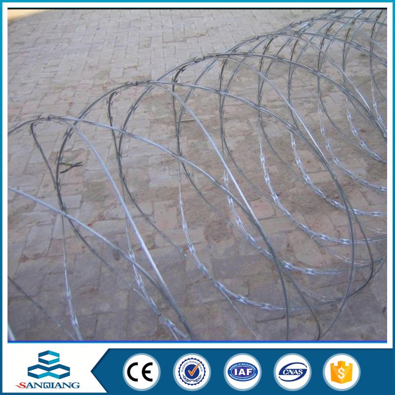 Alibaba China cost of razor wire fence installation price