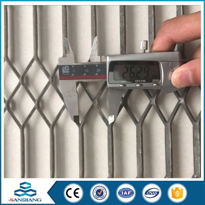iso9001:2008 galvanized expanded metal mesh price philippines