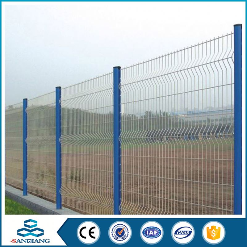 best security cheap iron triangle bent fence