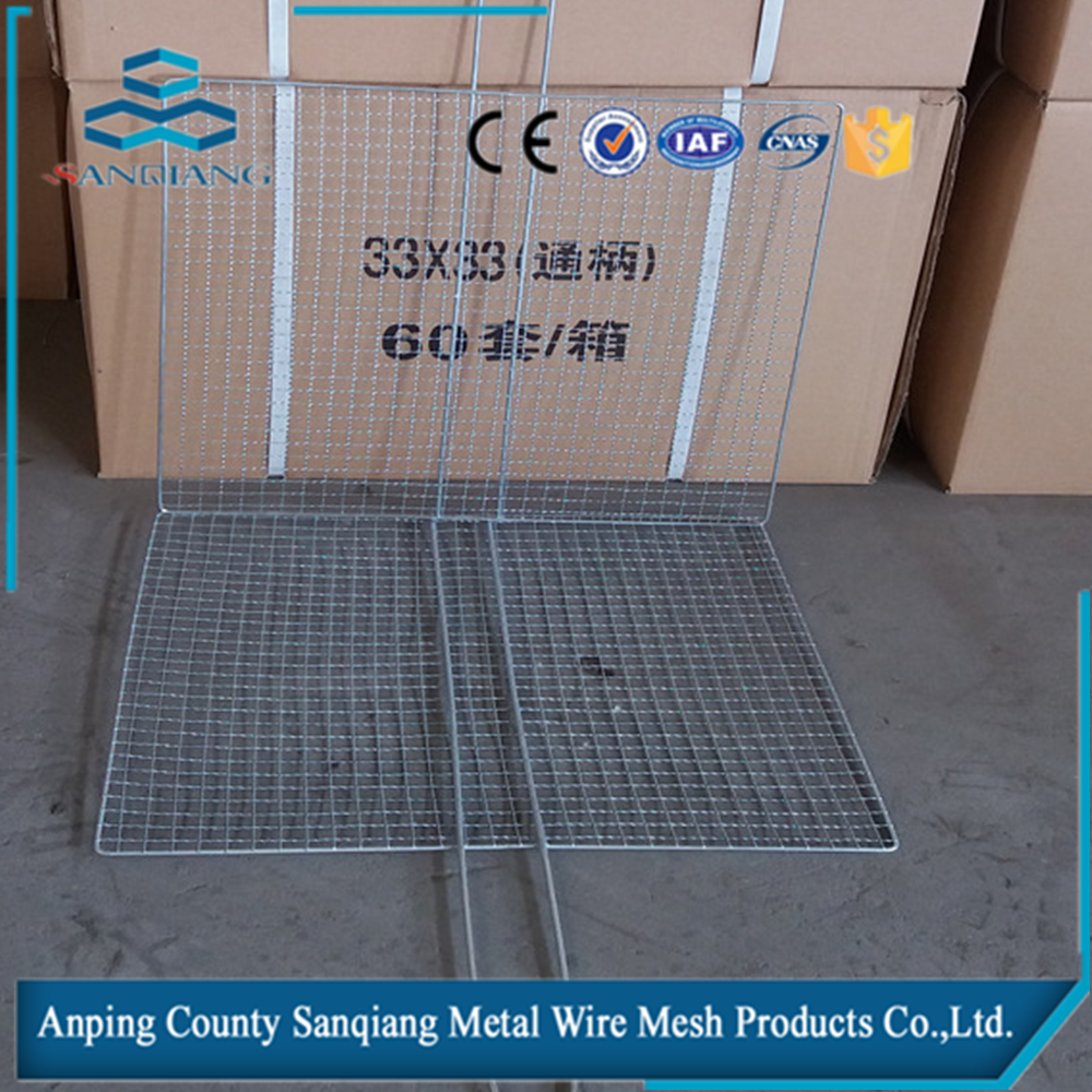 Crimped Barbecue Grill Netting/staimless barbecue grill wire mesh /cable wire netting mesh BBQ