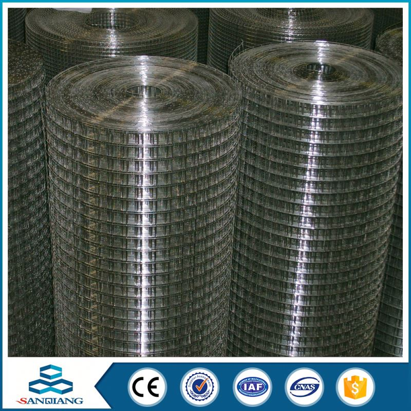 my test china supply 1/4 inch 6x6 reinforcing galvanized welded wire mesh
