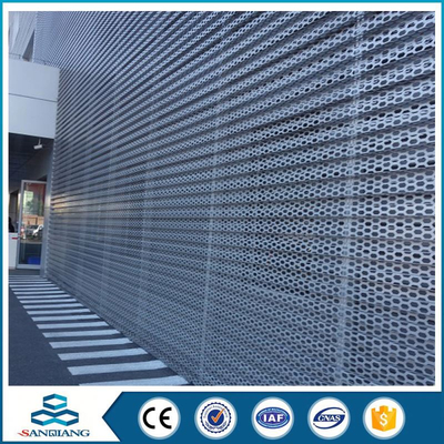 different type powder coated perforated sheet metal mesh parts