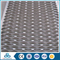 galvanized low carbon steel perforated metal mesh sheet for bank chairs