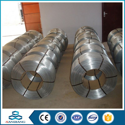 galvanized pvc coated iron wire factory anping