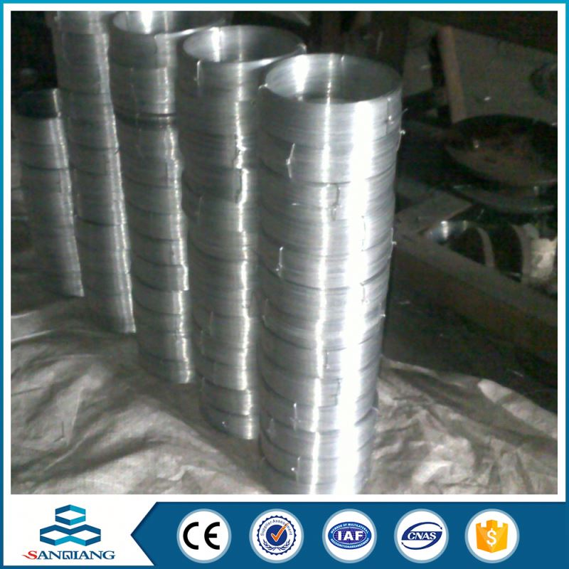 factory hot dipped electro galvanized iron wire for making machine