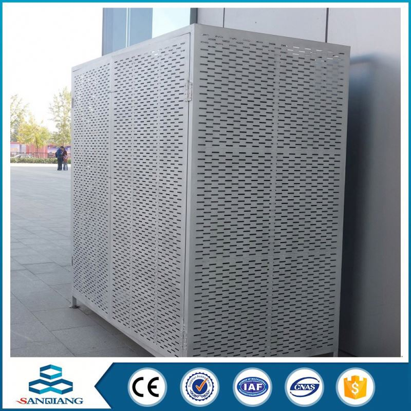 plain factory hexagonal holes perforated metal mesh strainer