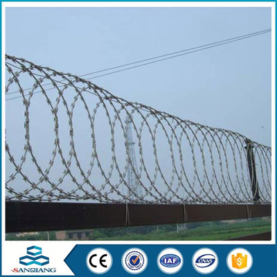 cheap double twist steel military concertina galvanized barbed wire made in china