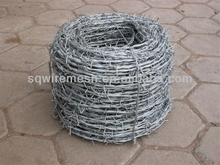 21 years galvanized barbed wire(Anping Factory)