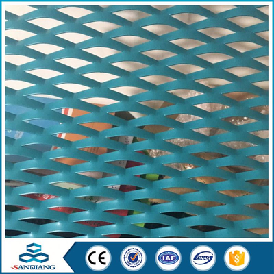 anodize aluminum expanded metal mesh shade screen