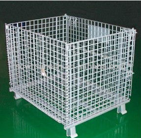 pvc coated steel wire turnover box