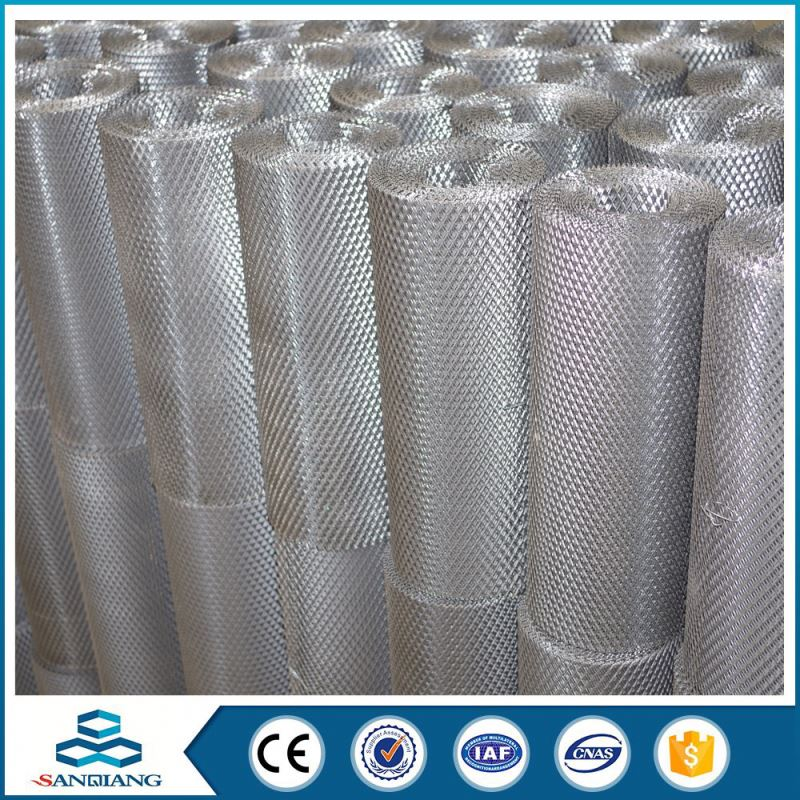 thick galvanized small hole expanded metal mesh price factory