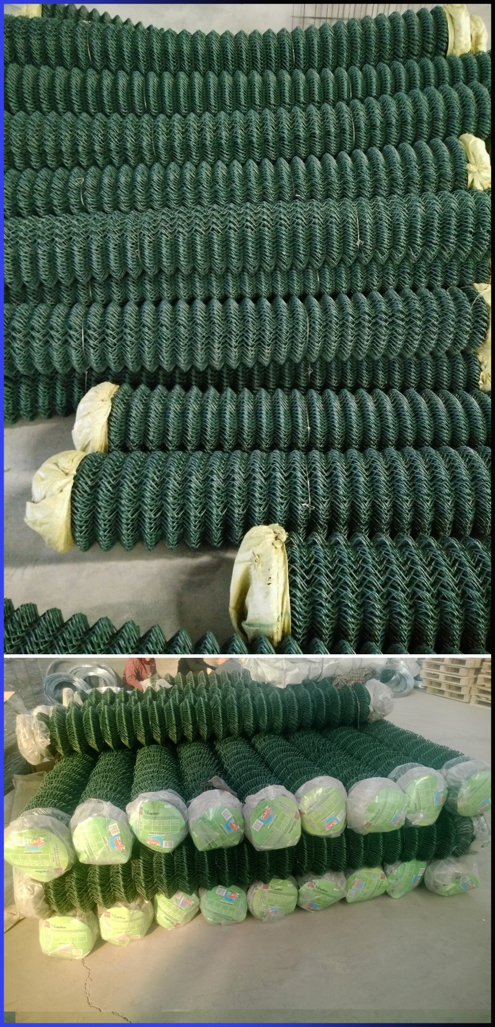 Anodized 9 gauge used chain link fence for sale