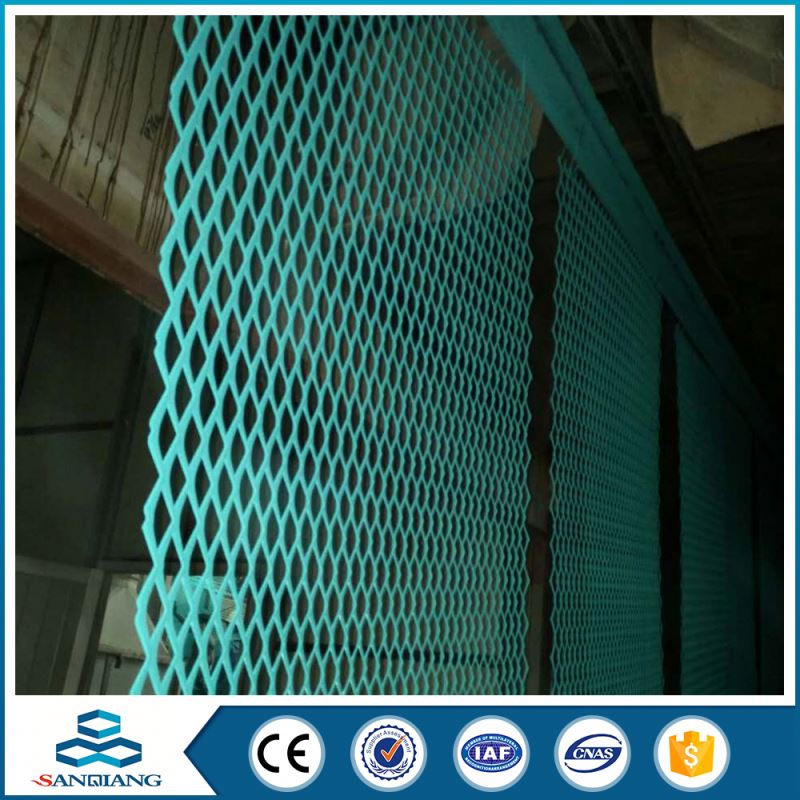 anodize aluminum expanded metal mesh for curtain wall panel