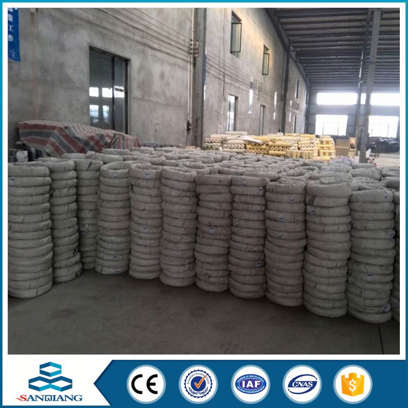 best quality coil galvanized pvc coated iron wire net
