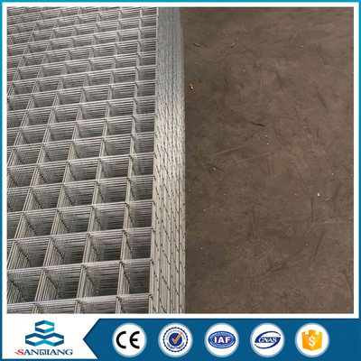 electric galvanized welded wire mesh panel with bending