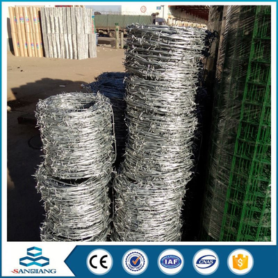 hot dipped galvanizing steel concertina coil barbed wire