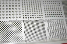 PVC coated black steel perforated sheet