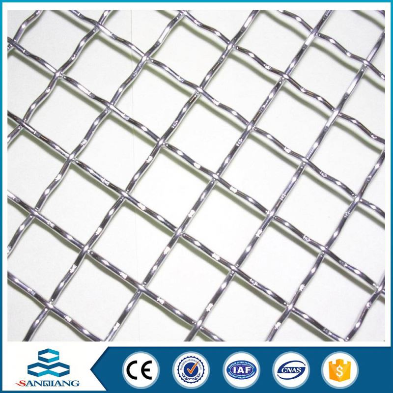 Big Production Ability 304 stainless steel crimped wire mesh