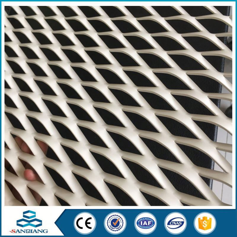 oxide decorative aluminum expanded metal mesh panels