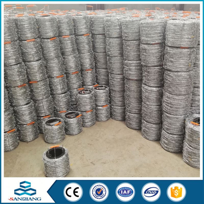 low price galvanized concertina razor barbed wire price