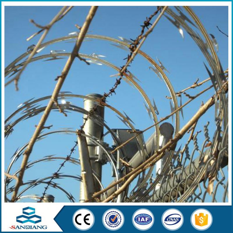 coated new product cross razor barbed wire