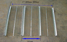 high quality galvanized ribbed lath (gold supplier )