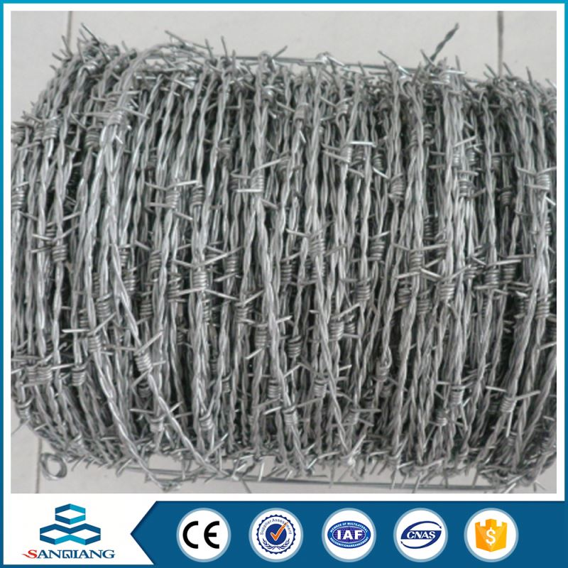 used galvanized single strand iron barbed wire price per meter philippines for sales