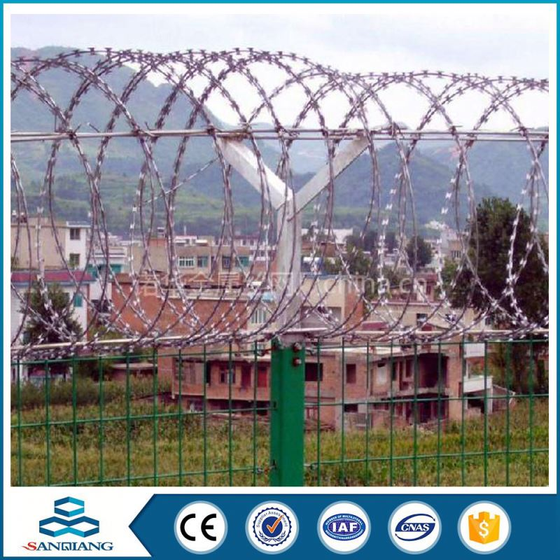 pvc coated stainless steel iron barbed wire factory wholesale