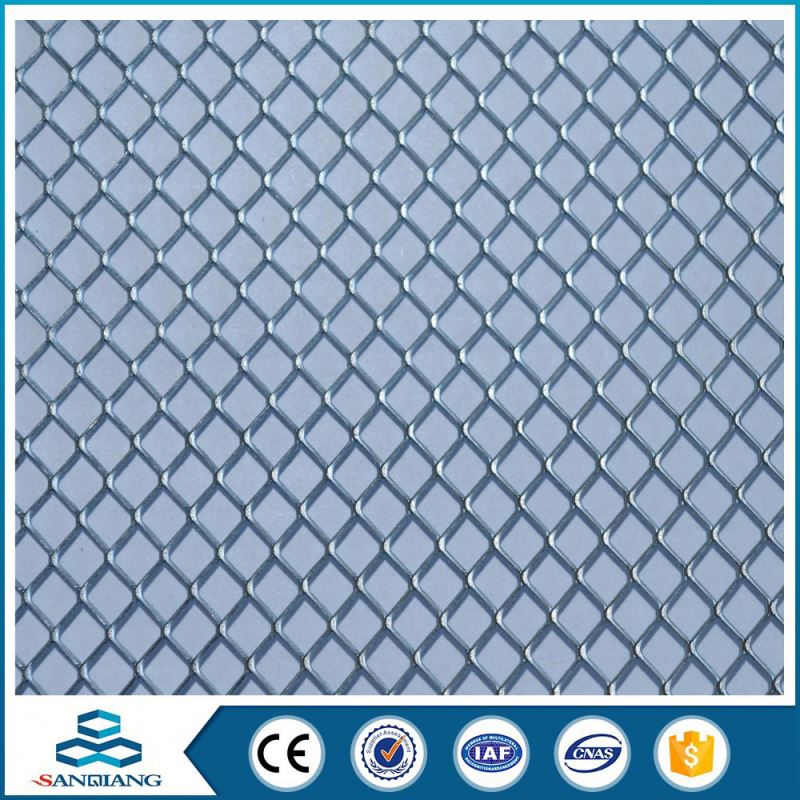 High-Efficiency china manufacture galvanized diomand cells expanded metal mesh