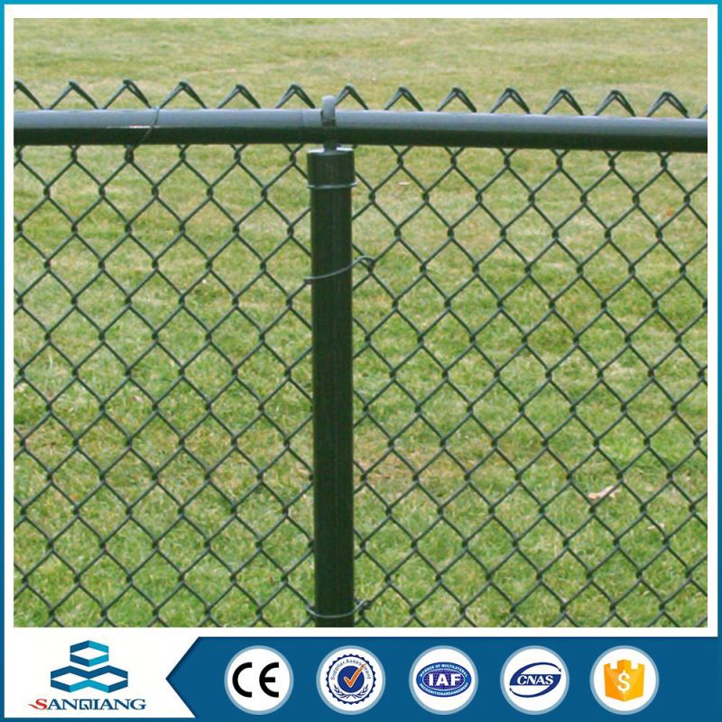 anti-climb hot dipped galvanized used chain link fence designs