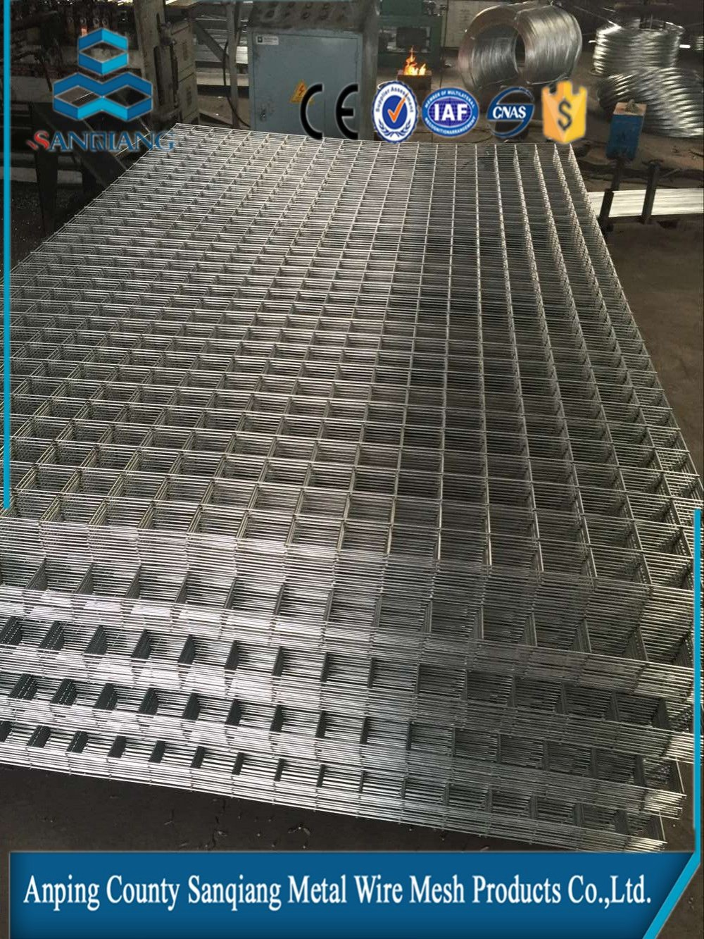 galvanized steel powder coated welded wire mesh panel