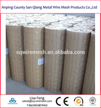 3/4''*3/4''galvanized welded wire mesh roll