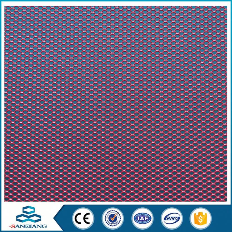 High Efficiency diamond stainless steel cheap heavy duty expanded metal mesh