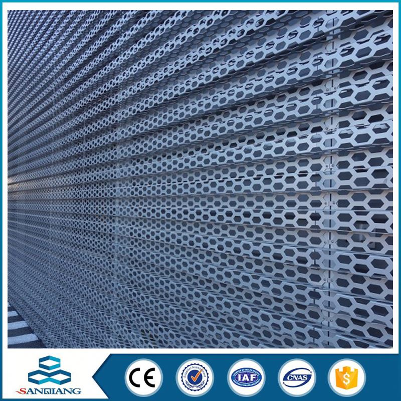 extra fine perforated metal sheet mesh walkway