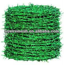 PVC barbed wire mesh security