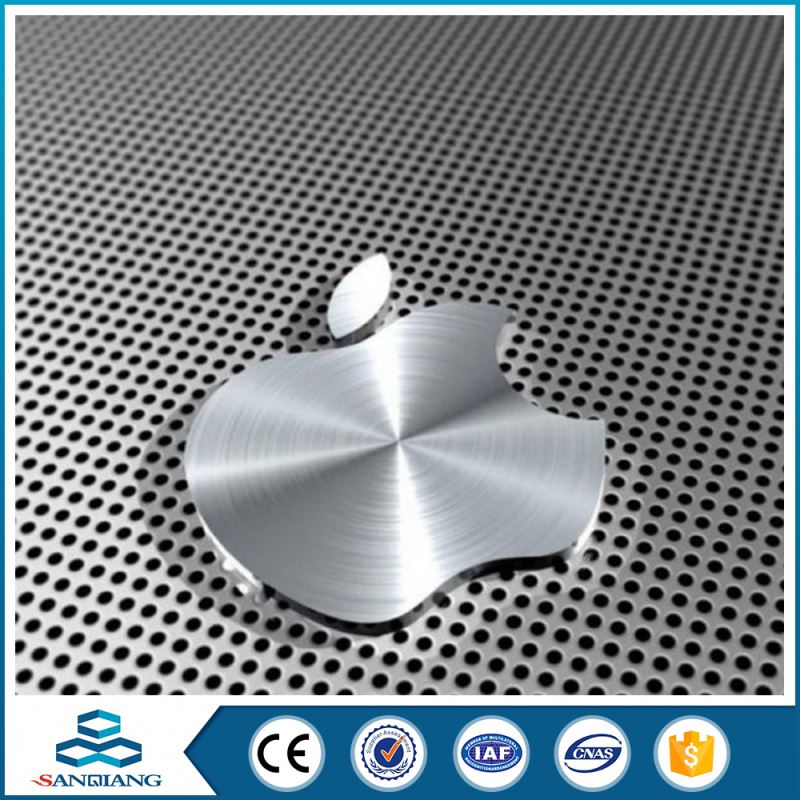 low-carbon steel plate hexagonal perforated metal mesh manufactory