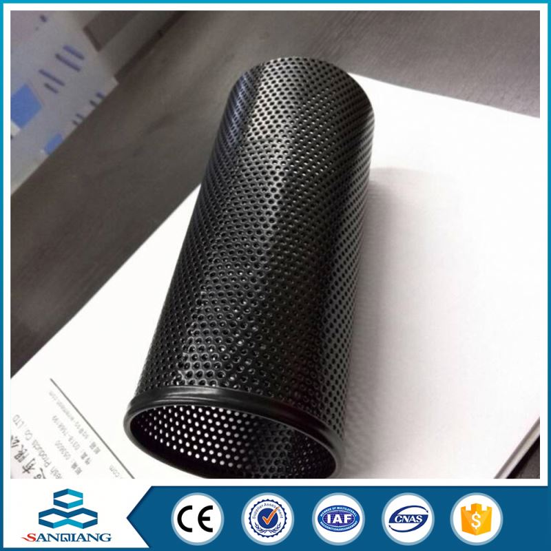 hot sale low carbon steel plate lowes perforated metal mesh