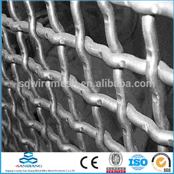 durable crimped woven wire mesh(factory)
