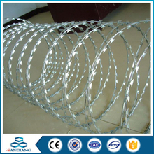 All Sizes independent razor wire mesh fence installation