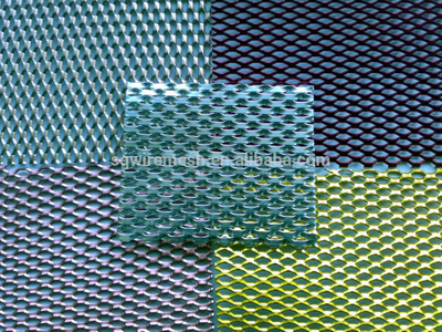 mini Aluminum Expanded Metal Mesh/small hole expanded wire mesh for decoration