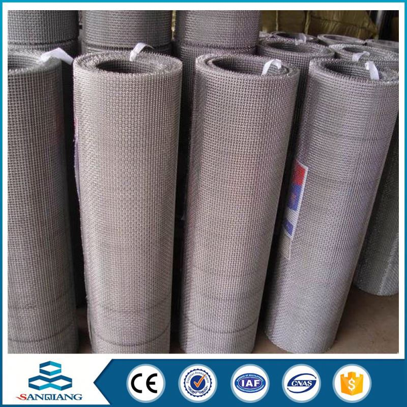 China Exporter 316l stainless steel crimped wire mesh