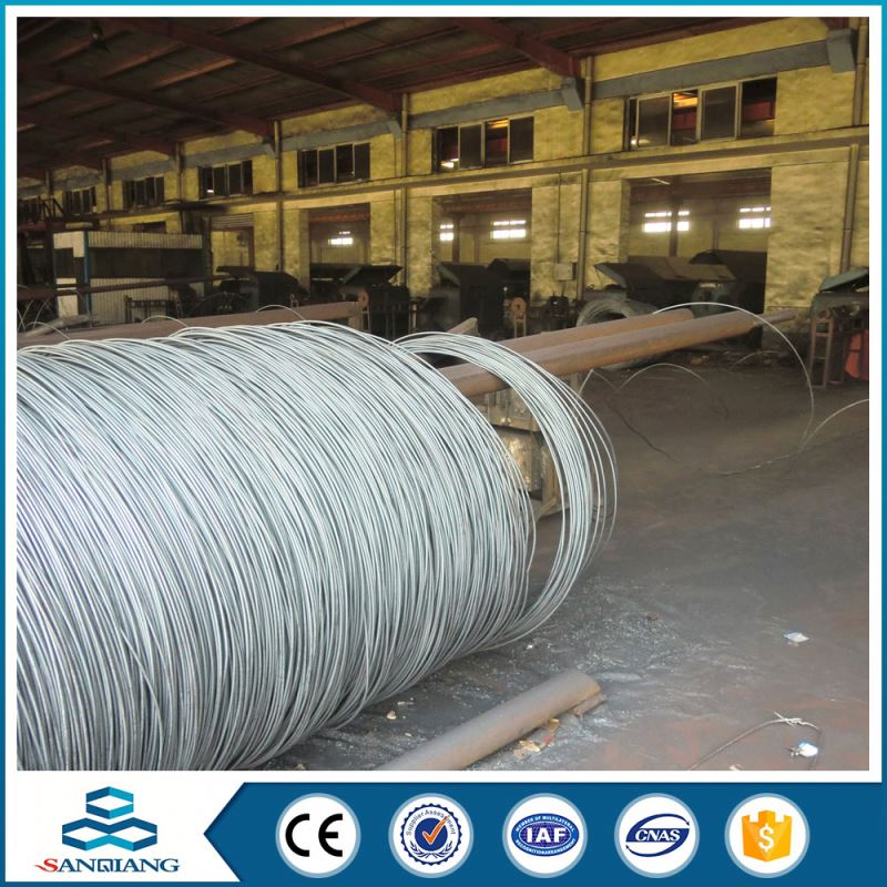 electro galvanized iron wire 14gage wire price
