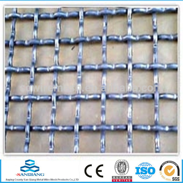 large quantity crimped wire mesh/stainless woven wire mesh